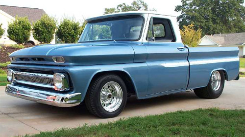 Project 1966 Chevrolet Truck - Clic Truck Shop